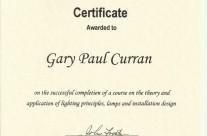 World Lighting Industry Federation Design Certificate – 2007