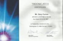 Tridonic Digital Addressable Lighting Interface Systems Certificate – 2007