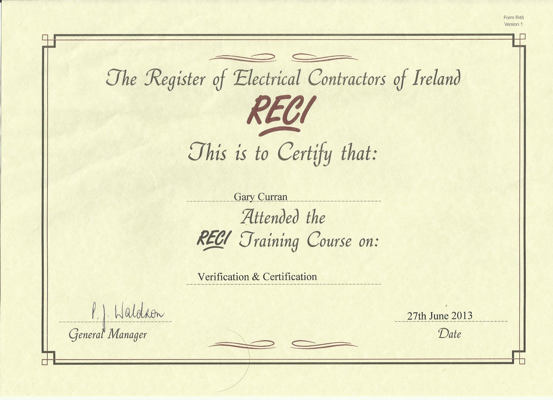 Beautiful collection of electrician certification business cards electrician certification inspirational qualified electrician dublin curran electrical services tallaght xflitez Image collections